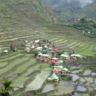 widok na wioskę Batad